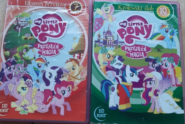 My little pony - Przyjaźń to magia - 2 filmy DVD