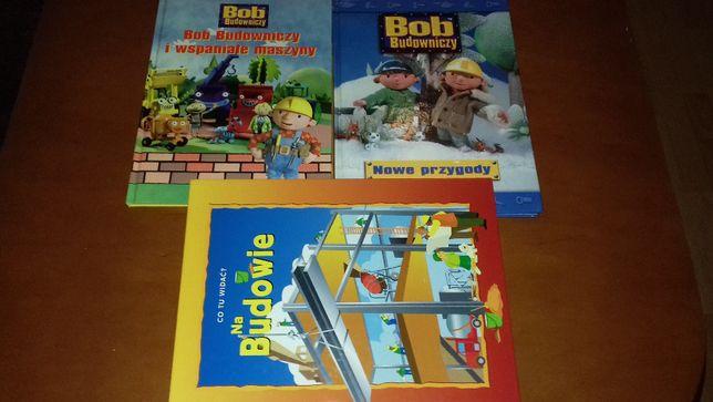 """""""Bob Budowniczy"""" zestaw 2 książek + gratis"""