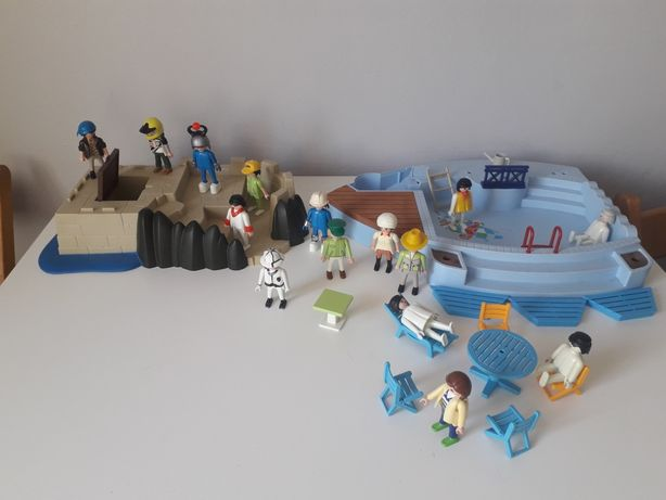 Playmobil basen figurki zestaw
