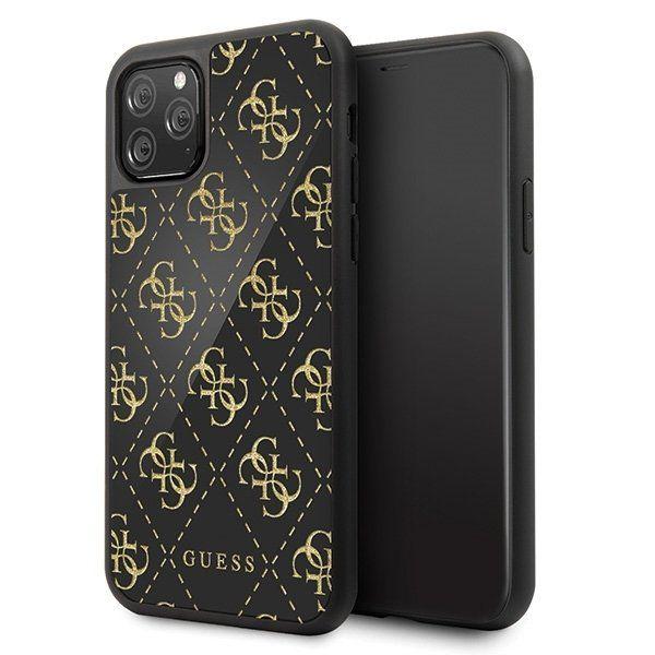 Etui Guess GUHCN584GGPBK do iPhone 11 Pro czarny/black hard case 4G Tuliszków - image 1