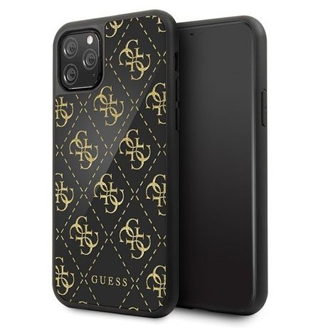 Etui Guess GUHCN584GGPBK do iPhone 11 Pro czarny/black hard case 4G