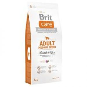 Brit Care Adult Medium Breed 12KG - Jagnięcina z ryżem - karma dla psa