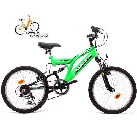 """OLPRAN Buddy rower dziecięcy 20"""" Zielony"""