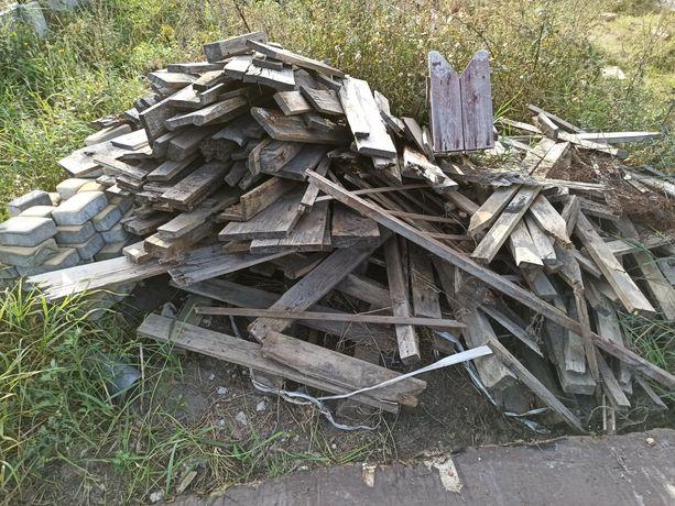 Drewno pobudowlane opałowe