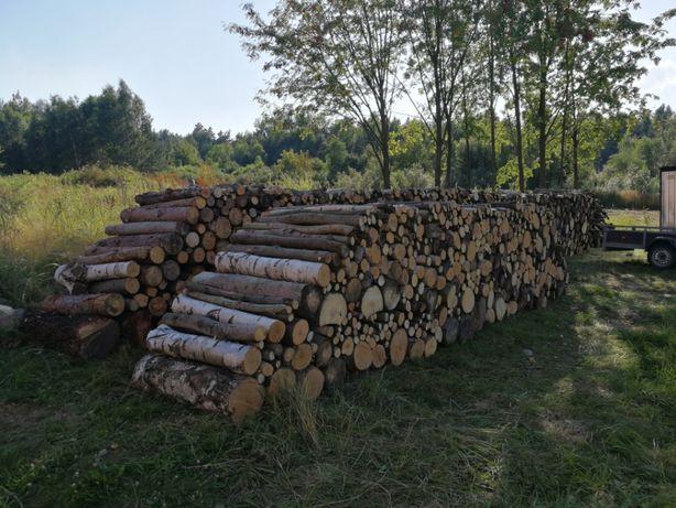 Drewno kominkowe / opałowe, mieszane - brzoza, osika, sosna