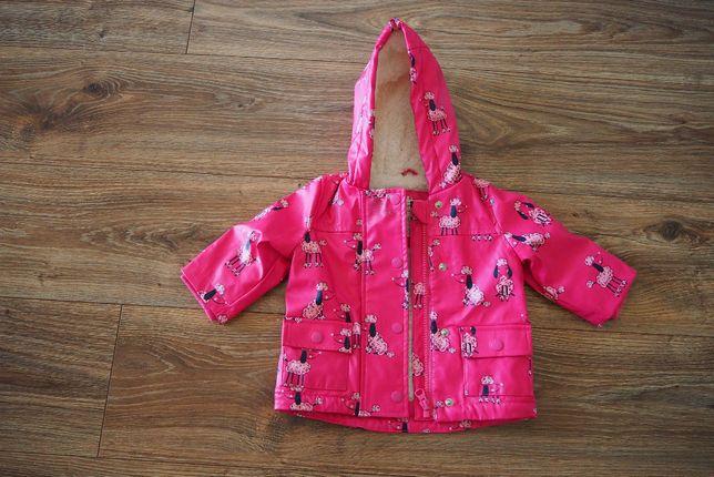 kurtka wiosna / jesień dla dziewczynki różowa GEORGE, rozm. 62-68