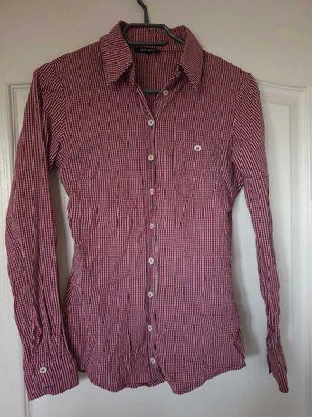Koszula DENNY ROSE 36 krata, czerwona