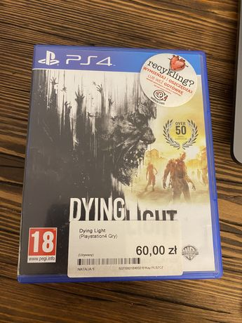 Dying light ps4 stan idealny