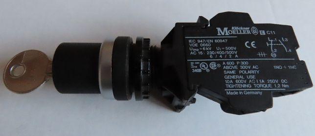 Moeller Klockner E c11 sterownik, napęd przełącznika, z kluczykiem