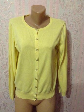 Кофта М - L лимонного цвета.