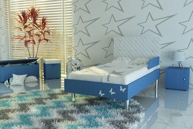 Łóżko dla dziecka z kryształami,dziecięce,materac i dostawa GRATIS.