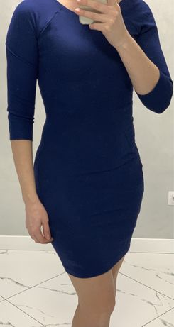 Приталенное платье, платье карандаш, размер S