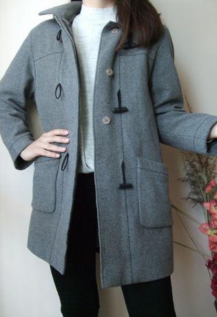 Płaszcz wełniany 70% wełna rozmiar L