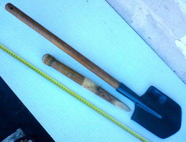 саперная лопата с удлиненной ручкой