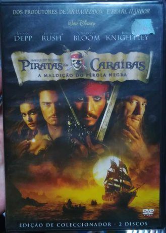 Piratas das Caraíbas - edição coleccionador de dois discos