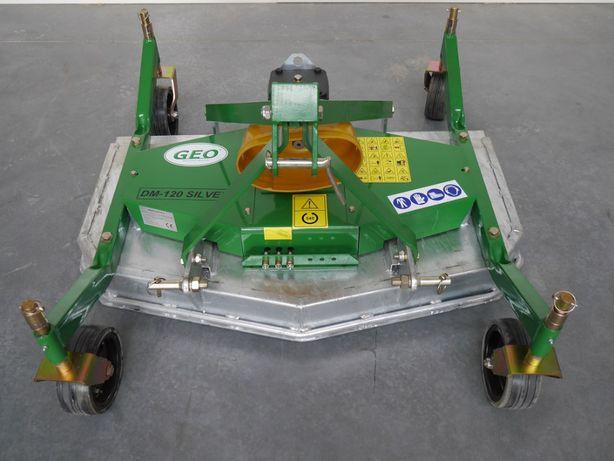 Kosiarka pielęgnacyjna DM120 silver do traktorka ogrodniczego GEO!