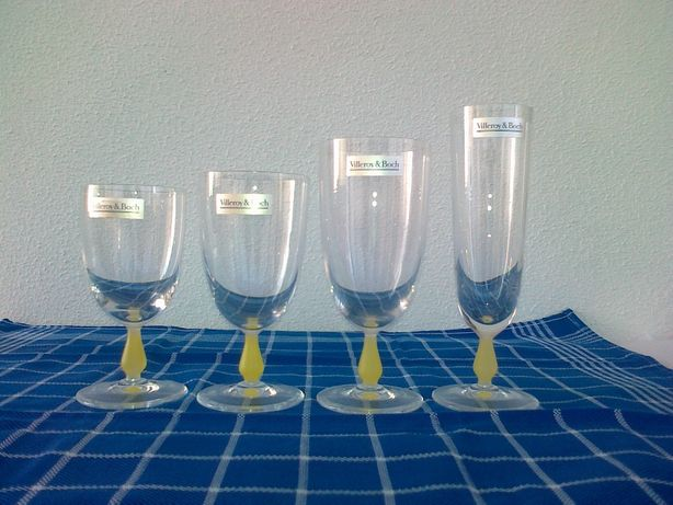 Serviço copos VILLEROY & BOCH em cristal - completo (48 peças)