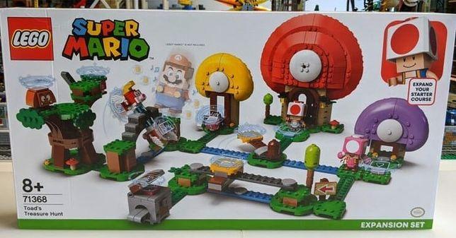"""Конструктор LEGO Super Mario """"Погоня за сокровищами Тоада"""", 4800р."""