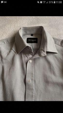 Koszula męska Wólczanka 42/188-192 szara