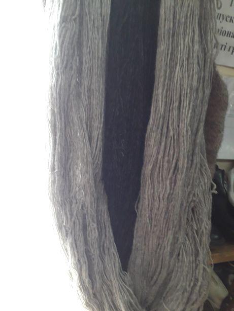 Пряжа,натуральная овчинка