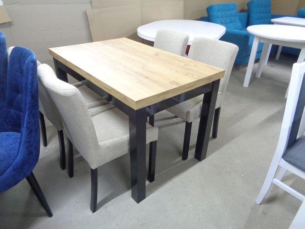 Solidny Rozkładany STÓŁ + 4 krzesła
