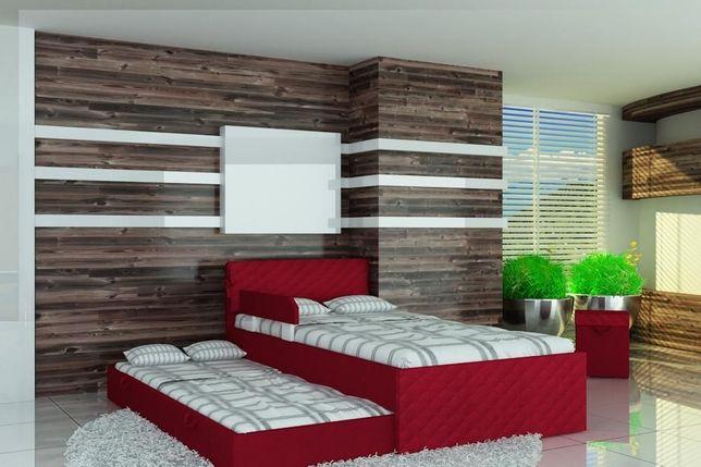 Łóżko piętrowe dla dzieci z bardzo wygodnymi materacami,różne kolory