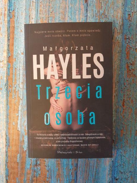 """Nowa, """"Trzecia osoba"""", Małgorzata Hayles"""