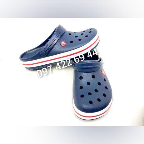 Сабо Crocs Крокс Crocband Clog Navy Синие ! Купить со скидкой!