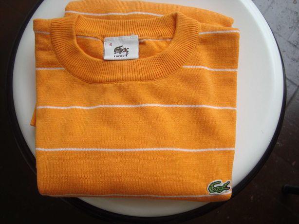 Camisola de malha Lacoste M usado