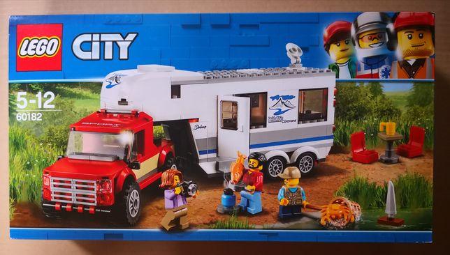 Lego city 60182 Pick-up z przyczepą kempingową