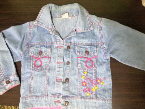 Пиджак джинсовый детский