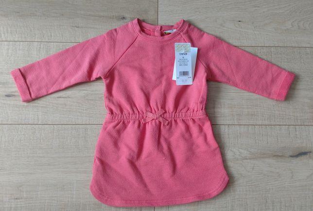 Nowa sukienka, tunika dziewczęca, Tape a Loeil, rozmiar 74