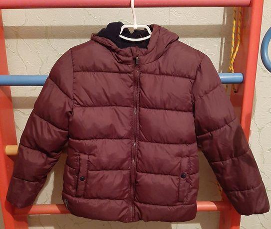 Продам куртку на флисе Венгрия 128-134