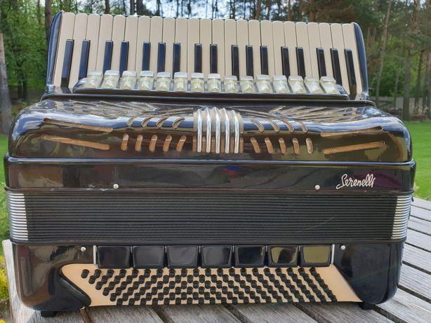 Akordeon Serenelli 120 Basów, zamiana na keyboard KORG , KETRON