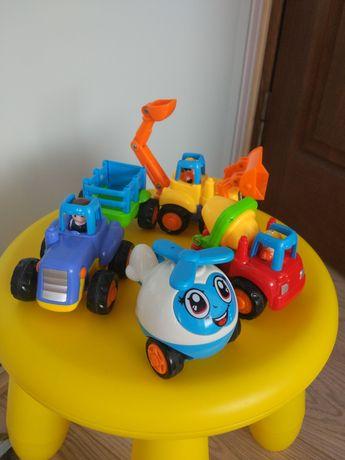 Машинки инерционные маленькие