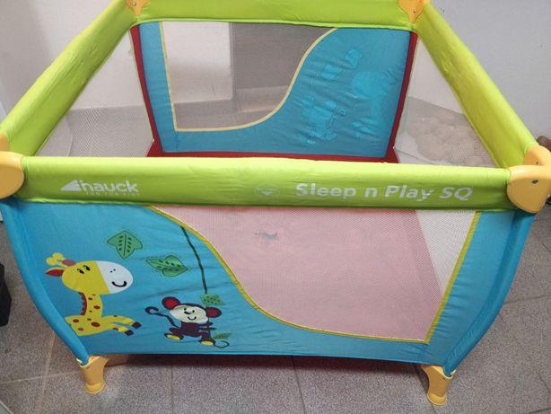 Parque/cama de viagem para bebe
