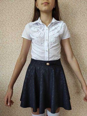 Школьная блуза блузка Many&Many 9-10 лет