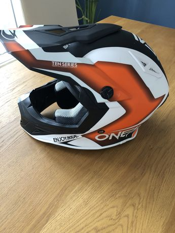 Kask O'neal ten 10 series flow orange roz.S