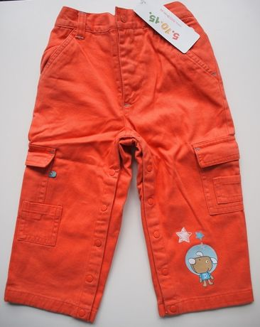 Ocieplane spodnie dziecięce – rozm. 86 – Nowe (z metką)