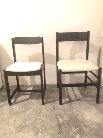 2 cadeiras vintage / estilo olaio nordico