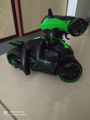 Мотоцикл на радио управлении