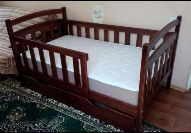 Купить Детскую подростковую кроватку с бортиками, мебель в детскую