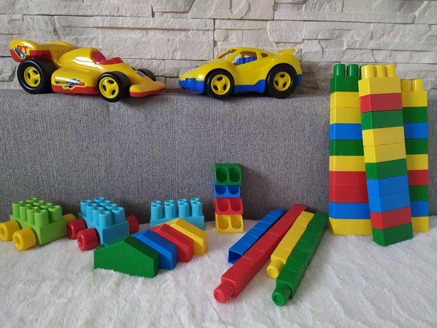 Zestaw zabawek: kolocki+auta