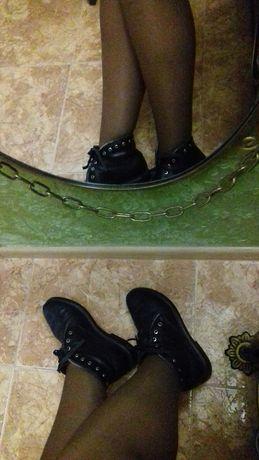 Ботиночки,натуральная кожа,замш.