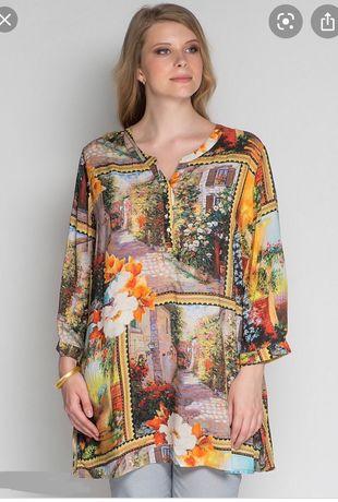 Летняя туника платье