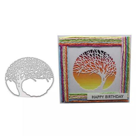 Scrapbooking - Wykrojnik - drzewo