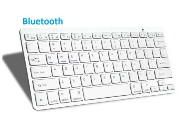 Беспроводная Bluetooth клавиатура компьютерная android iOS keyboard