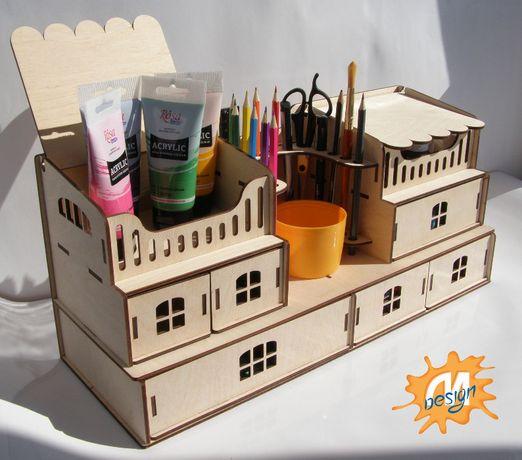 Органайзер для школьной канцелярии, творчества, пенал для детей
