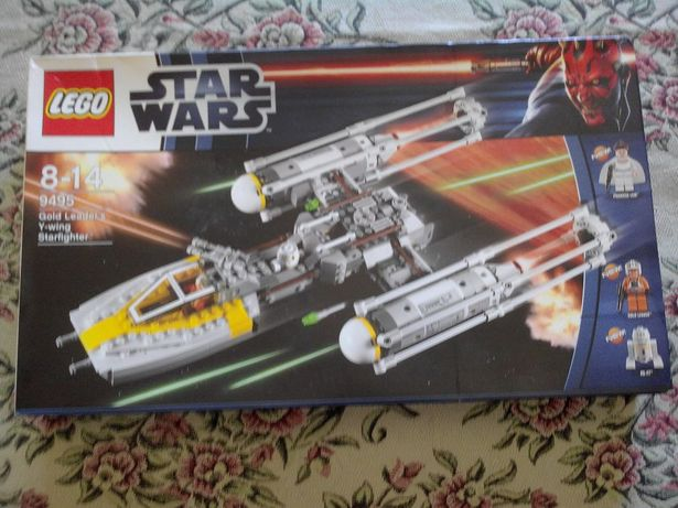 Lego - star wars 9495 - gold leader's y- wing starfighter - novo/raro