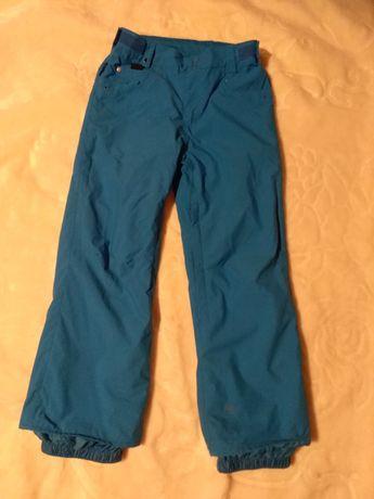 Niebieskie spodnie narciarskie Quiksilver 12 lat